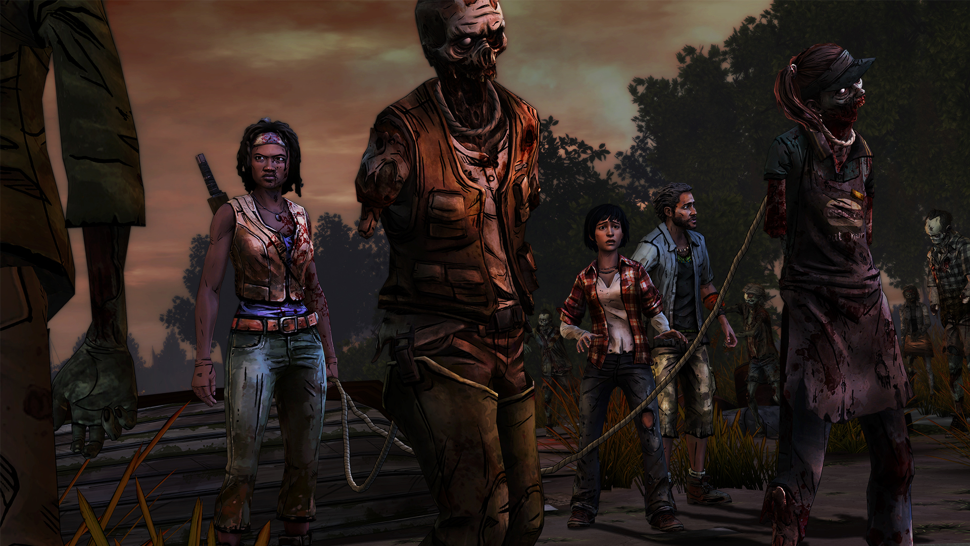 WDM 102 Pets 1920x1080 - New Screens And Trailer From Telltale's Michonne Series