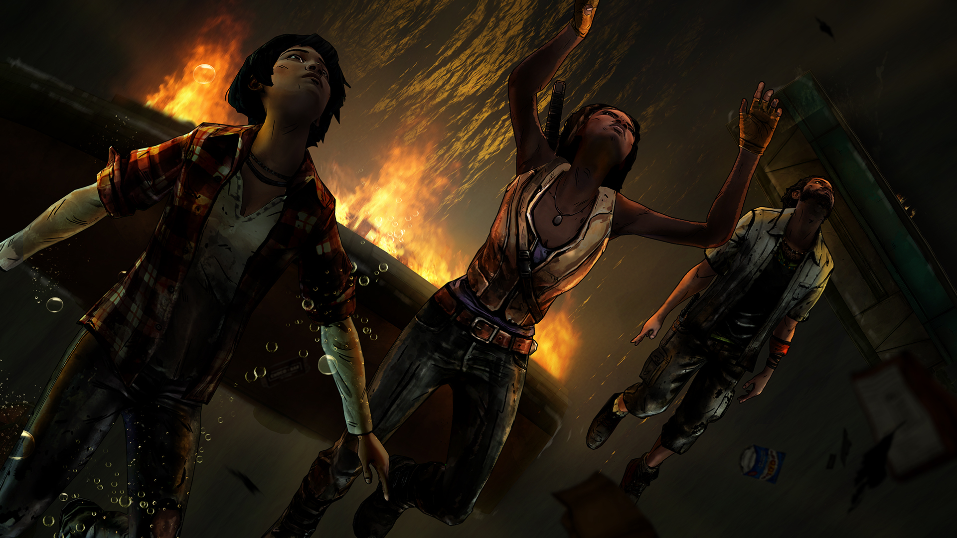 WDM 102 Underwater 1920x1080 - New Screens And Trailer From Telltale's Michonne Series