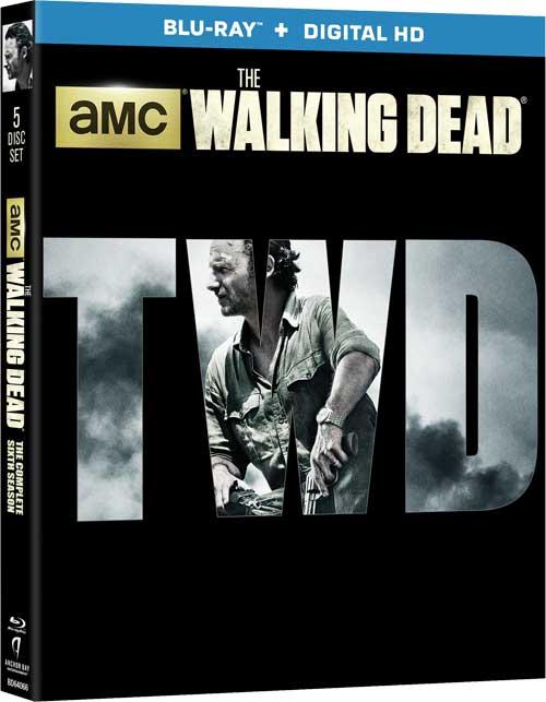 TheWalkingDead S6 BLU - Negan's Blue Mouth Will Be Uncut On The Walking Dead Season 6 Blu-Ray