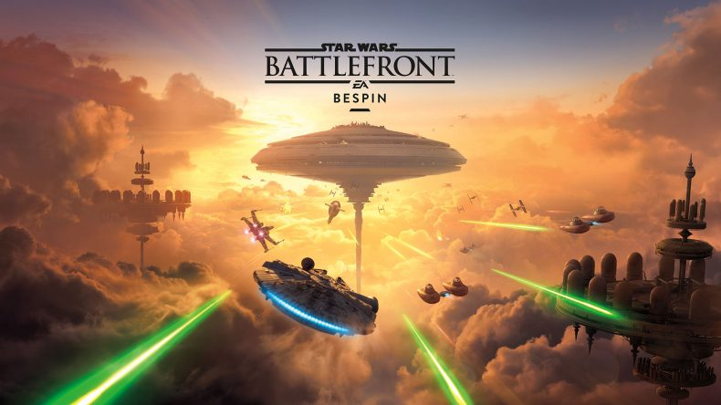 Bespin 790x444 - Star Wars Battlefront Adds Bespin Map And Characters