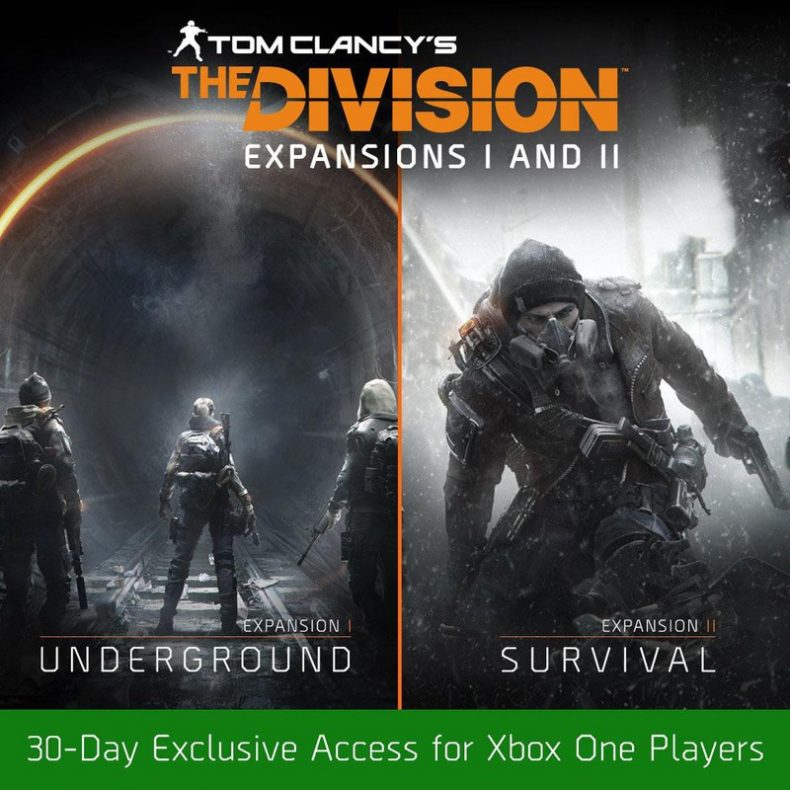 division xbox one 790x790 - Amazon Reveals Release Date For The Division Expansion