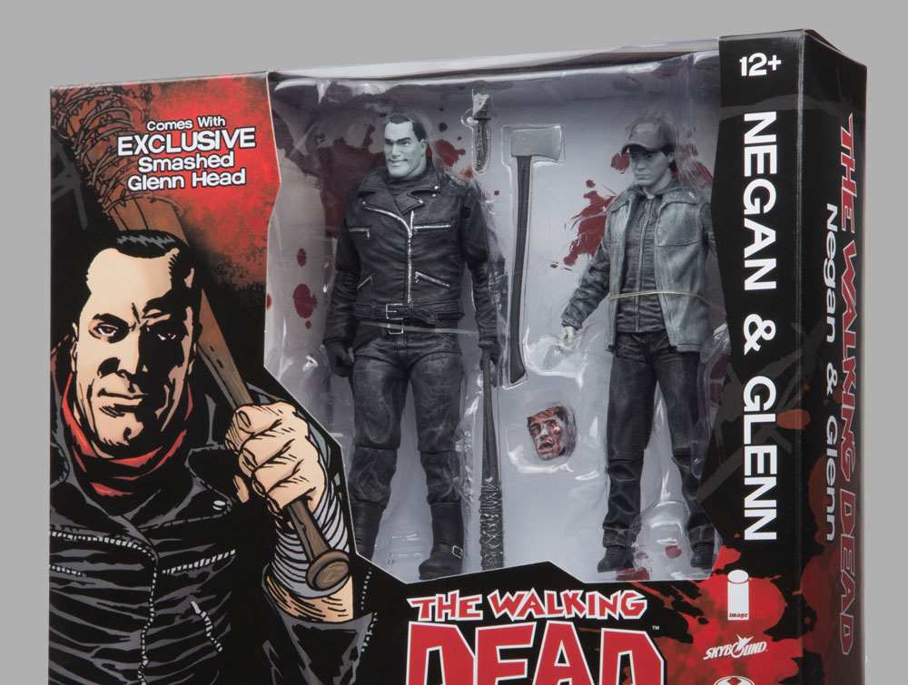 packaging gray cebf1 - Negan Vs. Glenn Action Figures To Be Offered At SDCC