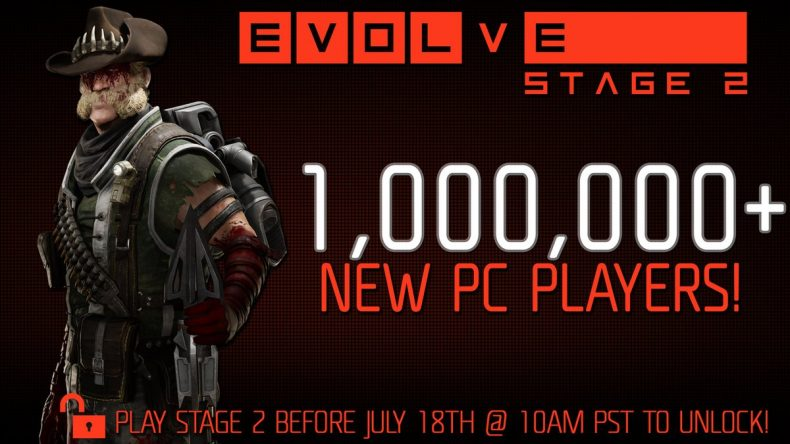 Evolve 790x444 - Evolve Hits 1 Million Players Since Doing Free-To-Play