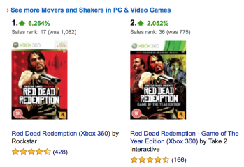 Screen Shot Red Dead 349x240 - Red Dead Redemption Soars Sale After Xbox One Reveal