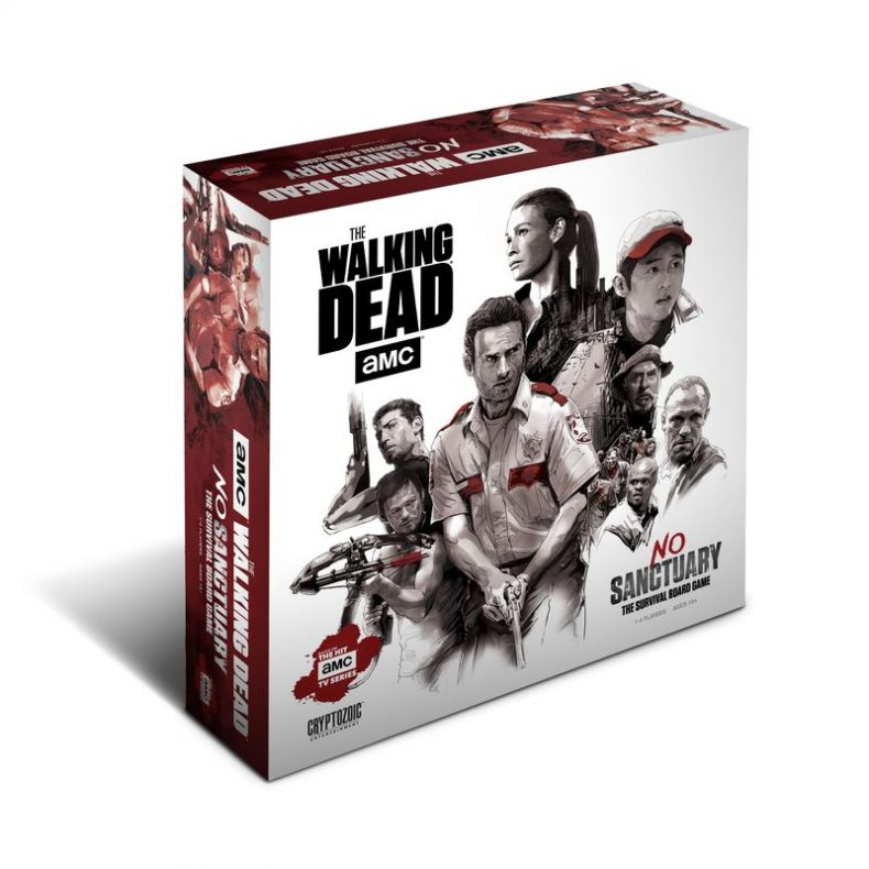 TWD NS KS 3D 790x790 - Proposed Walking Dead Board Game Won't Be Cheap