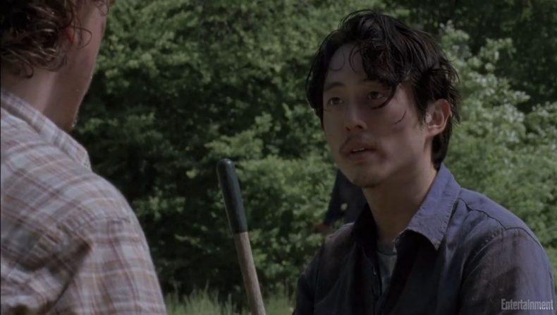 glenn 790x446 - Walking Dead Season 6 Deleted Scene: Dig A Ditch