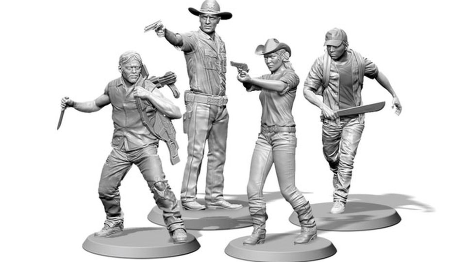walking dead minis copy.0.0 - Proposed Walking Dead Board Game Won't Be Cheap