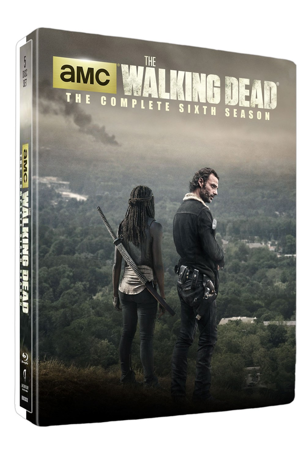 Walking Dead S6 Steelbook 3D - Season Six Featurette #1: A Minute With Richonne