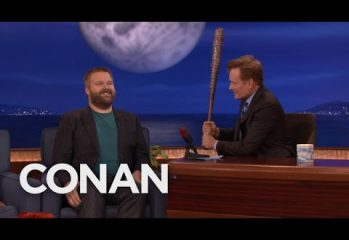 robert kirkman was on conan last 349x240 - Robert Kirkman Was On Conan Last Night