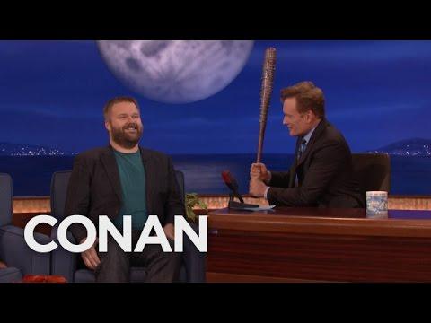 robert kirkman was on conan last - Robert Kirkman Was On Conan Last Night