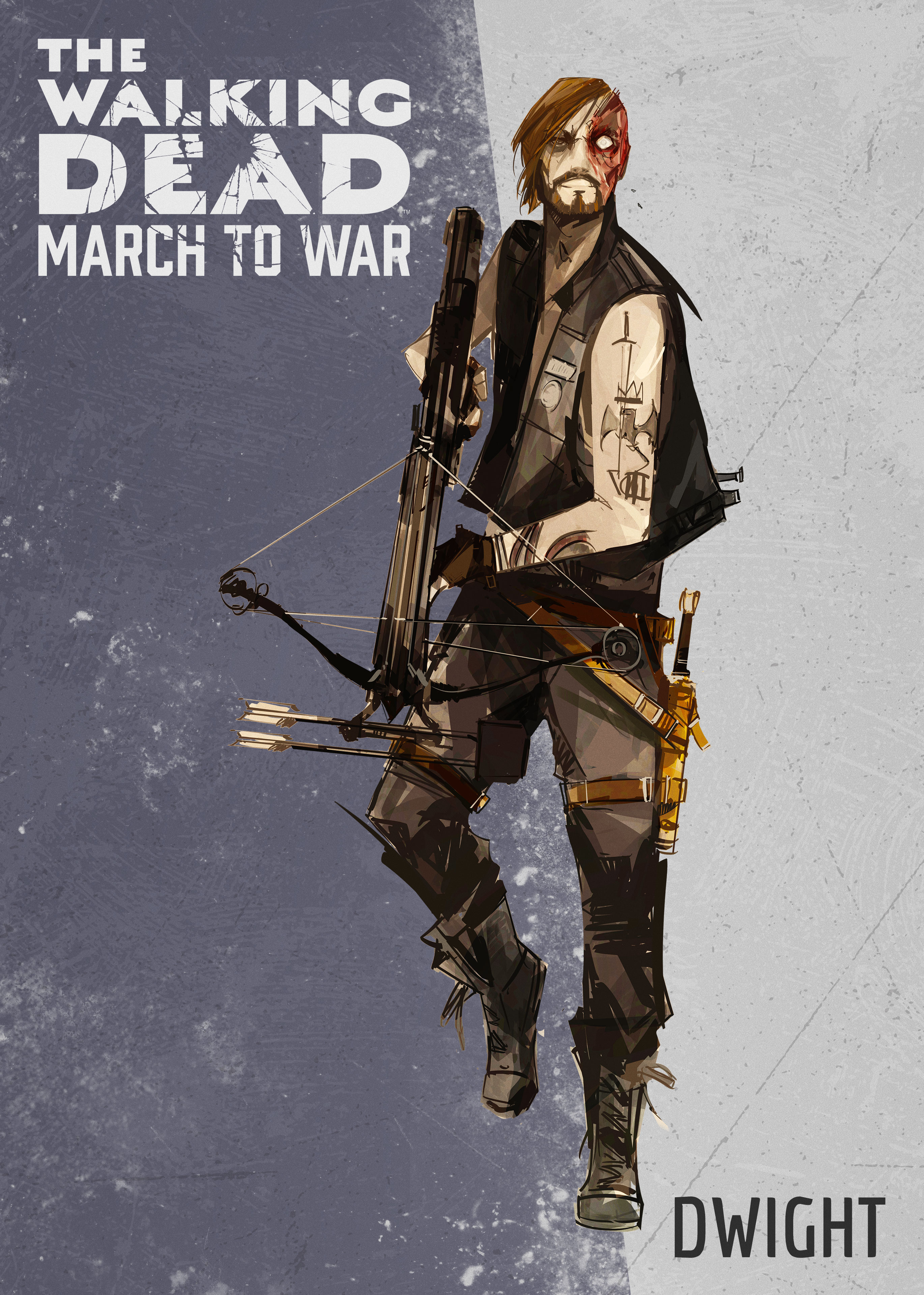Dwight 2 - The Walking Dead: March To War Game Coming Later This Year