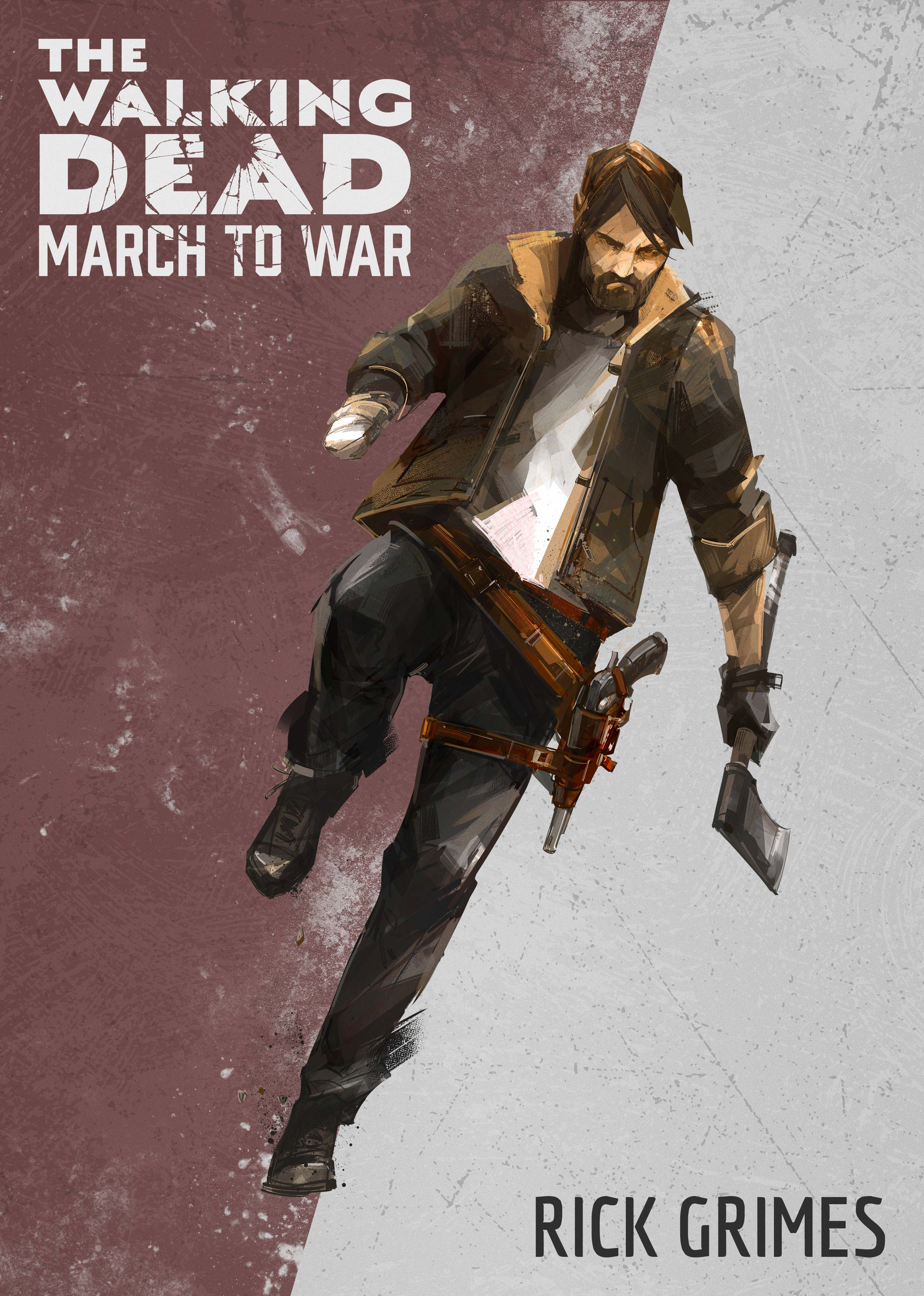 Rick 2 - The Walking Dead: March To War Game Coming Later This Year