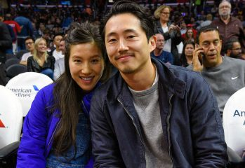 rs 1024x759 161204143238 1024.Steven Yeun Joana Pak Clippers Game.kg .120416 349x240 - Ex-Glenn Steven Yeun Is Now A Father