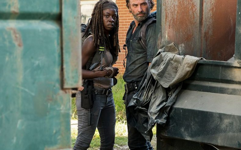 the walking dead episode 712 michonne gurira rick lincoln pre 800x600 790x494 - Two New Characters Will Be Joining TWD Season Eight
