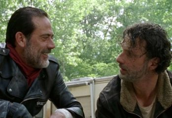 negan and rick