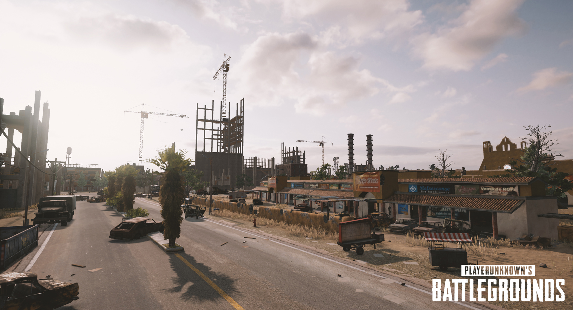 playerunknowns battlegrounds nvidia desert map screenshot 001 - First Five Screenshots Of PUBG's Desert Map