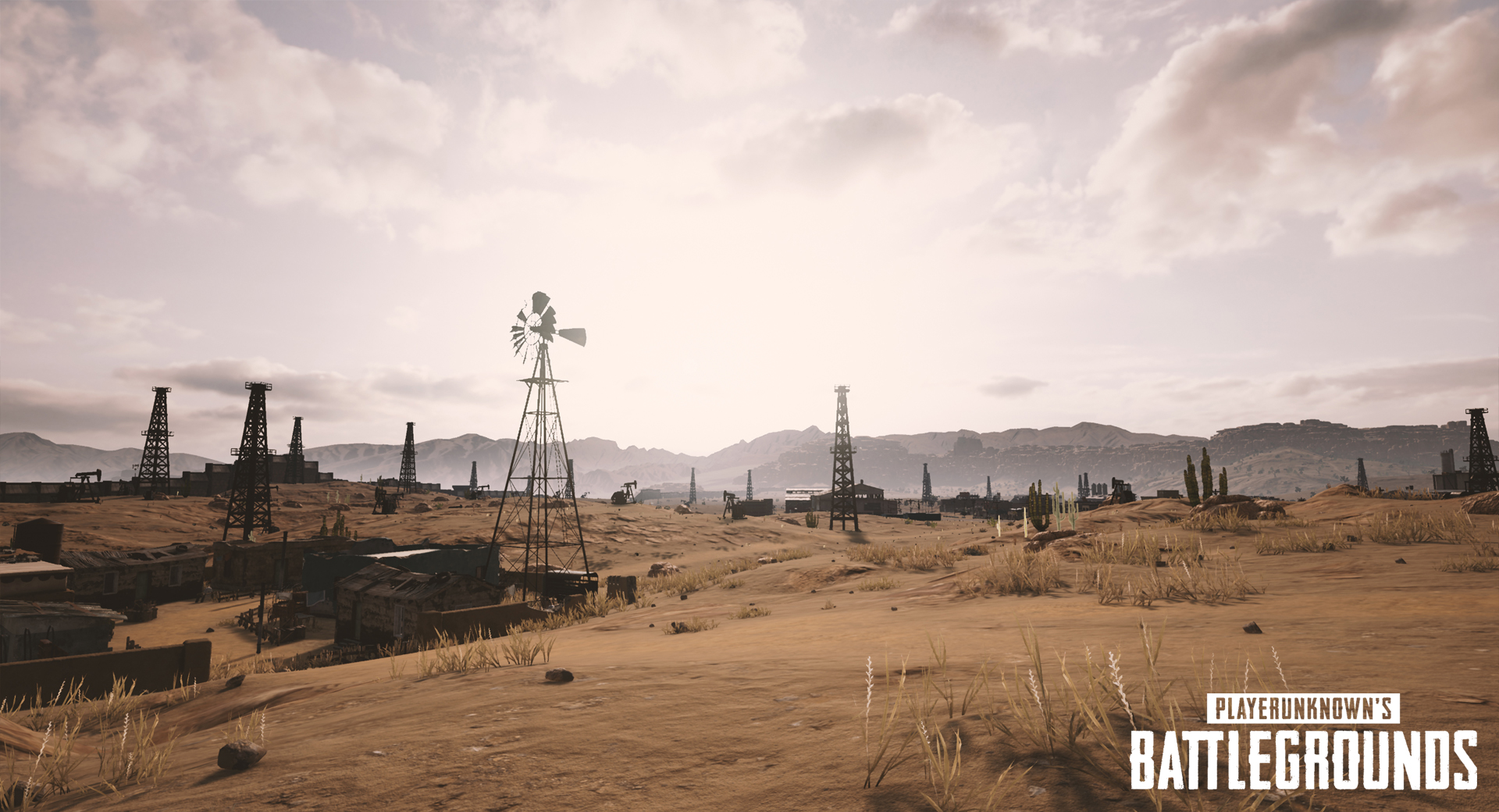 playerunknowns battlegrounds nvidia desert map screenshot 002 - First Five Screenshots Of PUBG's Desert Map