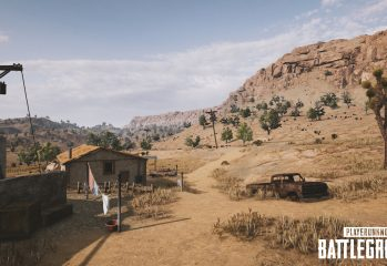 playerunknowns battlegrounds nvidia desert map screenshot 003 349x240 - PlayerUnknown's Battlegrounds Gets Survivor Pass 3 Wild Card On Console