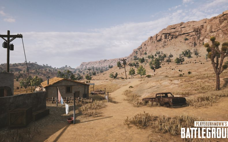 playerunknowns battlegrounds nvidia desert map screenshot 003 790x494 - First Five Screenshots Of PUBG's Desert Map