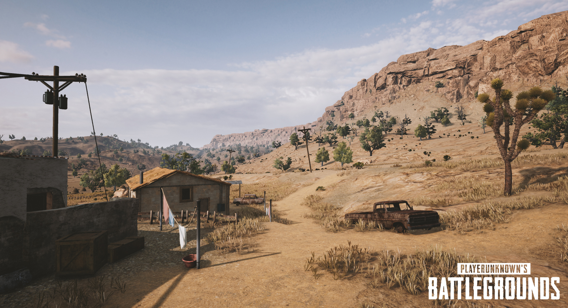 playerunknowns battlegrounds nvidia desert map screenshot 003 - First Five Screenshots Of PUBG's Desert Map