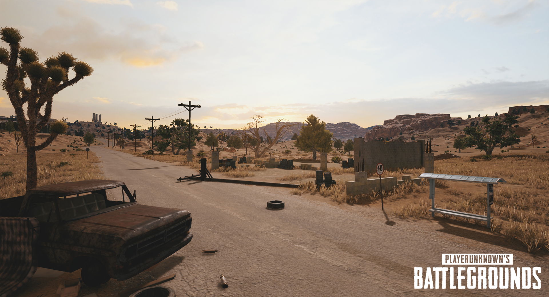 playerunknowns battlegrounds nvidia desert map screenshot 004 - First Five Screenshots Of PUBG's Desert Map