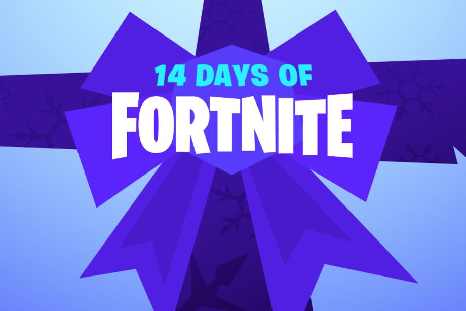 14 days of fortnite