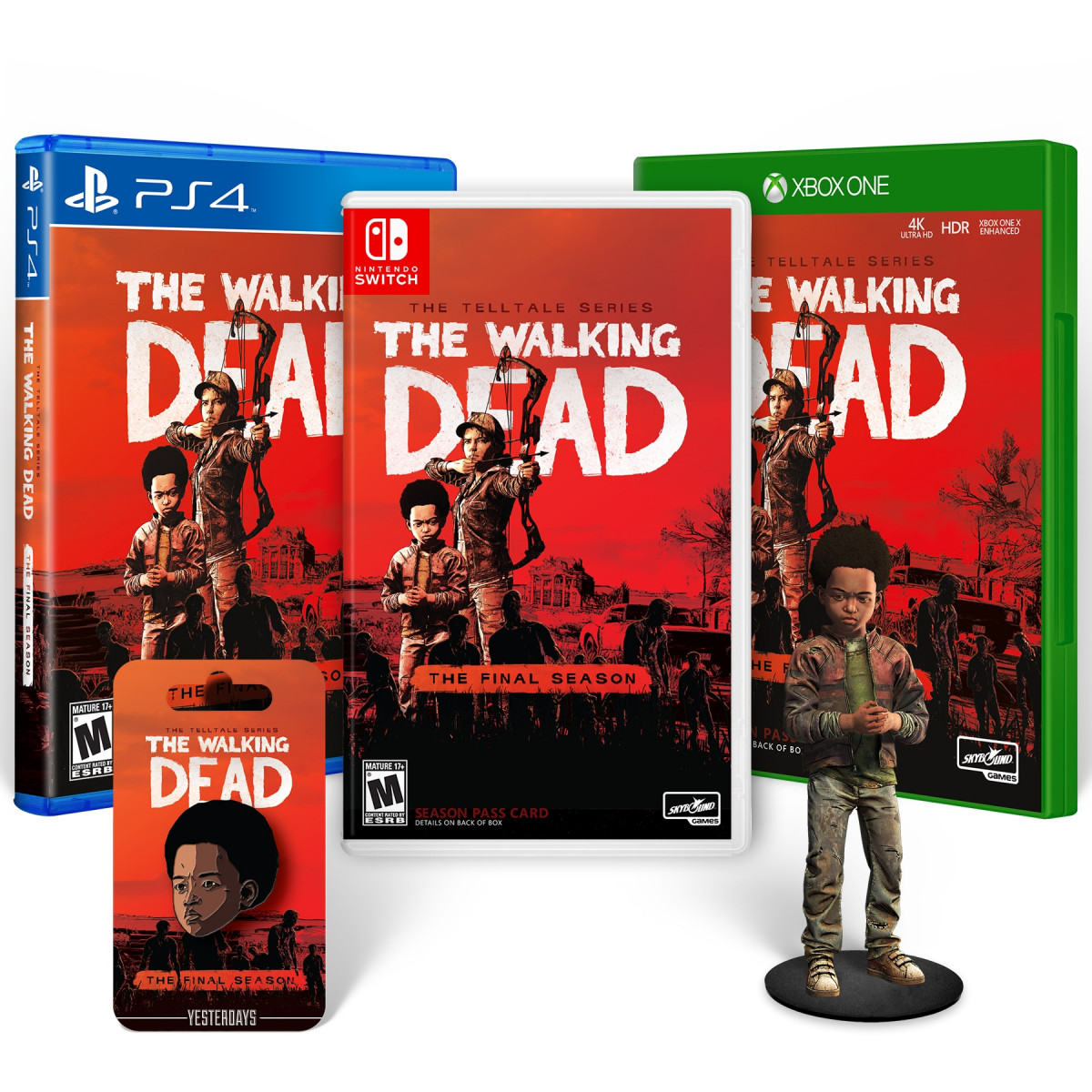 The Walking Dead The Final Season: Collector's Pack