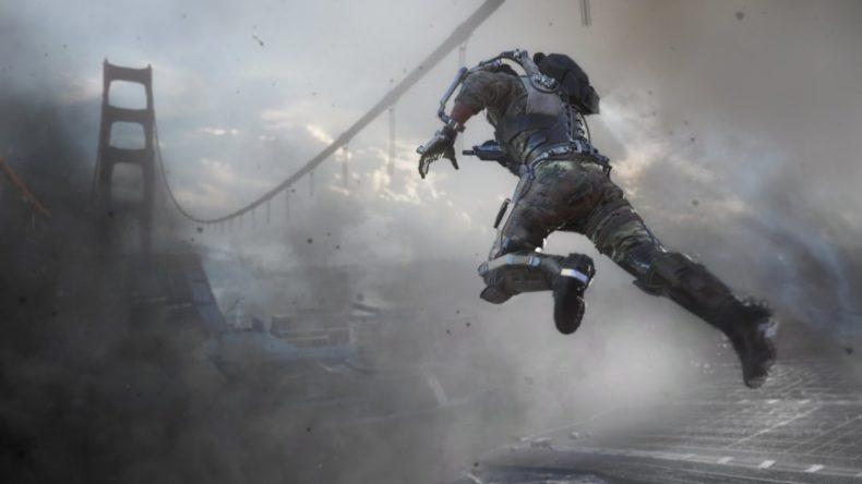 call of duty advanced warfare ga 790x444 - Call of Duty: Advanced Warfare Gamescom Trailer Features the End of a San Francisco Landmark