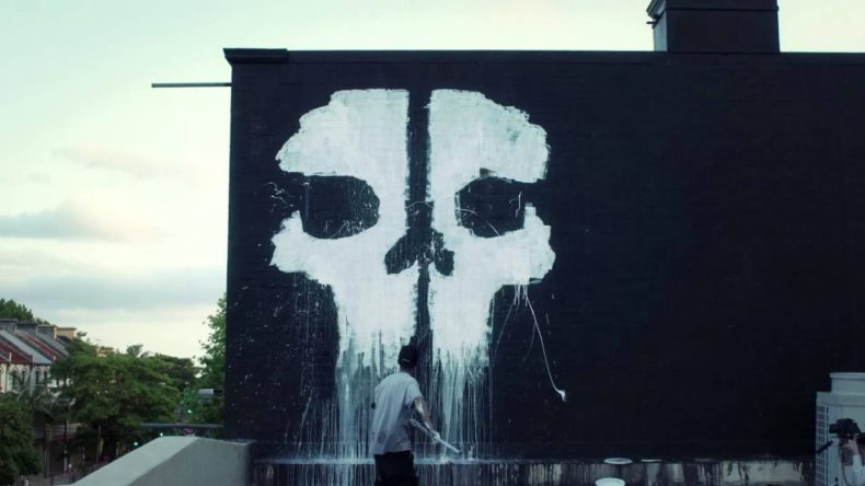 cod ghosts street art installati 790x444 - COD Ghosts Street Art Installation Video