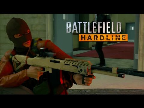 cops and robbers gets bloody in - Cops and Robbers Gets Bloody in Battlefield Hardline Launch Trailer