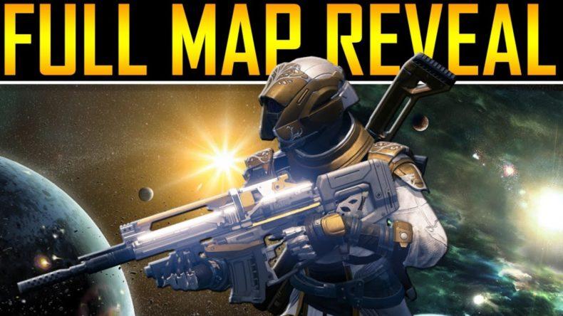 destiny full map revealed 790x444 - Destiny Full Map Revealed