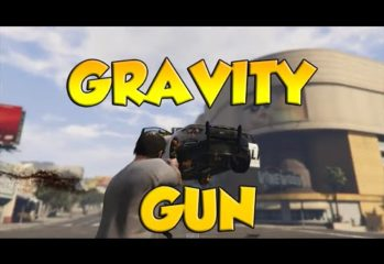 gta v mod enables use of gravity 349x240 - GTA V Mod Enables Use Of Gravity Gun