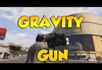 gta v mod enables use of gravity 349x240 - GTA V Mod Enables Use Of Gravity Gun