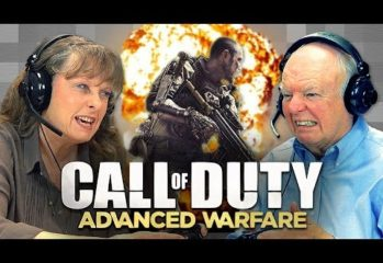 old folks react to call of duty 349x240 - Old Folks React to Call of Duty: Advanced Warfare