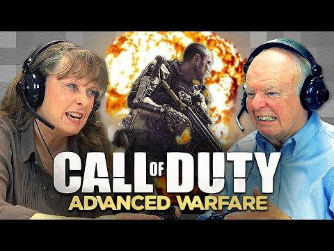 old folks react to call of duty - Old Folks React to Call of Duty: Advanced Warfare