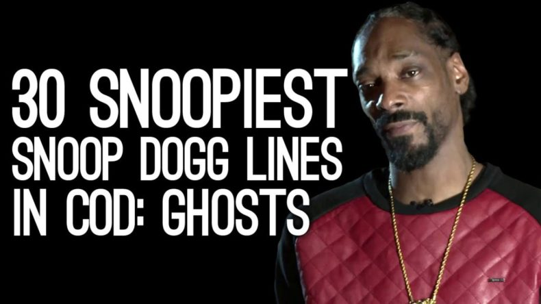 so whats it like having snoop do 790x444 - So What's It Like Having Snoop Dogg Call Your Call of Duty: Ghosts Game?