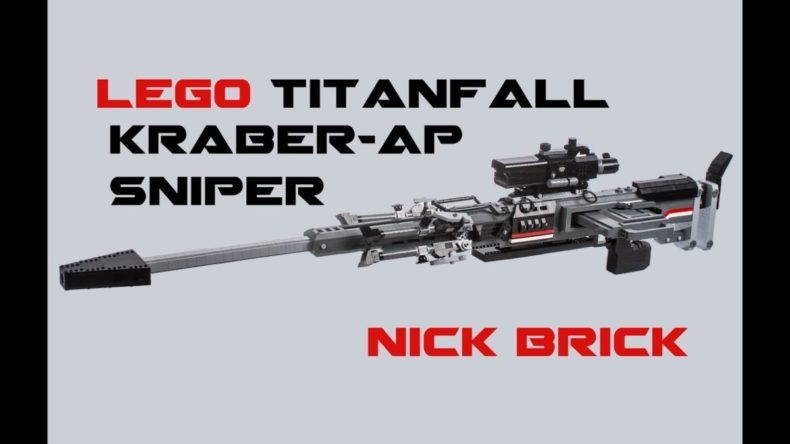 titanfalls kraber ap lovingly re 790x444 - Titanfalls Kraber-AP, Lovingly Recreated in Lego
