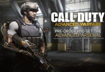 trailer for the call of duty adv 349x240 - Trailer for the Call of Duty: Advanced Warfare Advanced Arsenal Pre-Order Bonus