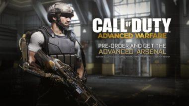 trailer for the call of duty adv 380x214 - Trailer for the Call of Duty: Advanced Warfare Advanced Arsenal Pre-Order Bonus