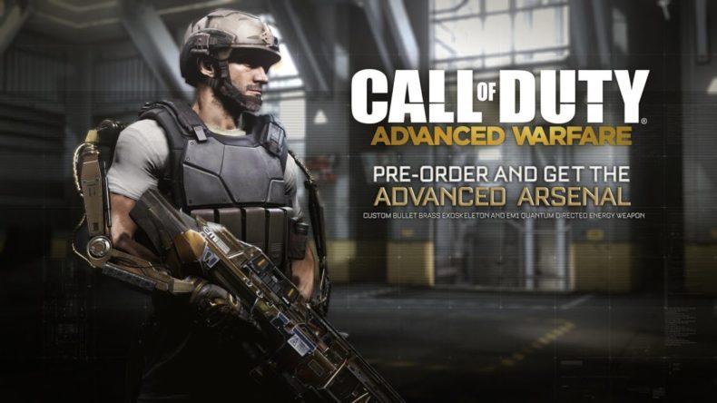 trailer for the call of duty adv 790x444 - Trailer for the Call of Duty: Advanced Warfare Advanced Arsenal Pre-Order Bonus