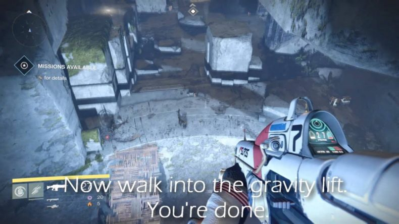 video shows you the way into des 790x444 - Video Shows You the Way Into Destiny Secret Area Set Aside For DLC
